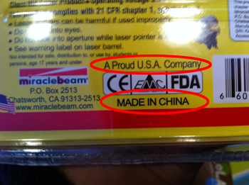 A proud USA company. Uh huh.